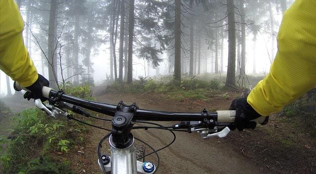 rutas bici en pozo alcón